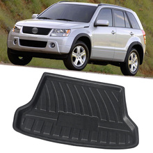 Автомобильный задний багажник, коврик для багажника, поднос для Suzuki эскудный Grand Vitara кочевой 2006 2007 2008 2009 2010 2011 2012 2013 2014 2015