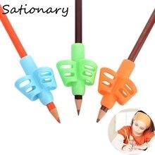 Цельнокроеное платье нетоксичный детей держатель для карандашей и ручек написание помощь коррекции осанки инструменты, офисные и школьные...