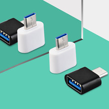 1pcs mini otg cabo usb otg adaptador micro usb 2.0 para usb conversor para android tablet pc