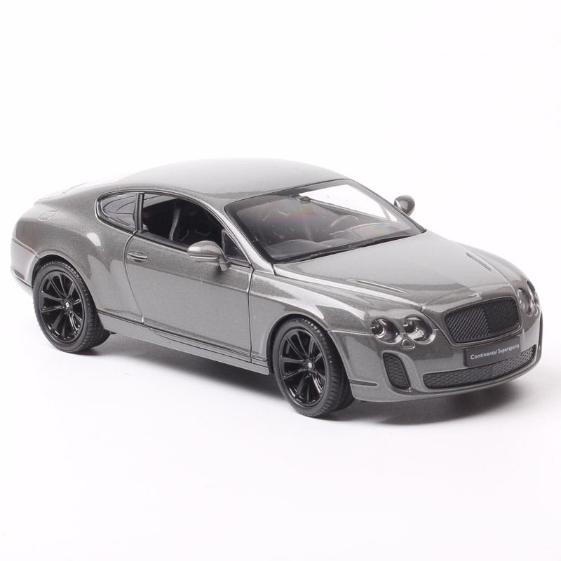 Kids 1:24 Scale Welly Bentley Continental Supersports  GT Luxury Diecasts & Toy Vehicles Metal Car Toy Auto Model Of Collectible