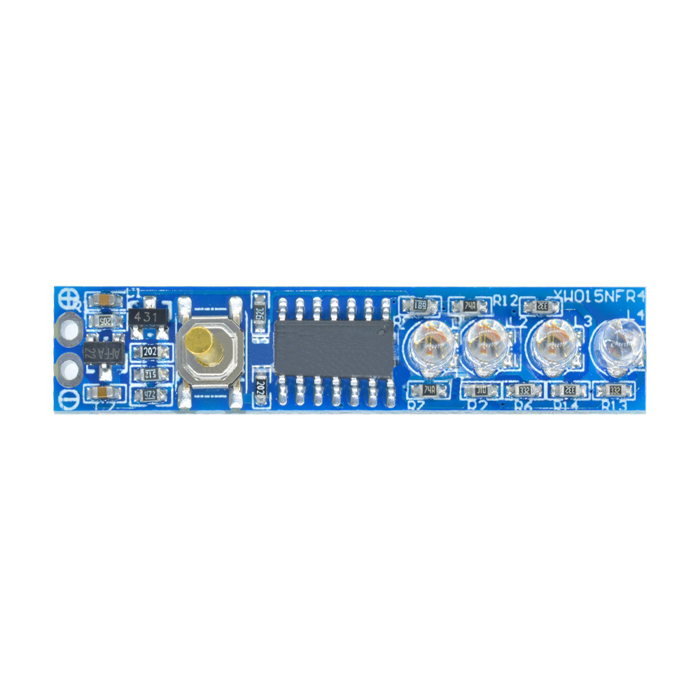 3.7V 1S/2S/3S/4S String 18650 Polymer Power Indicator Board Lithium Battery Pack Power Indicator