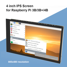 Resolution IPS Display TFT LCD Support IPS 800 X 480 Capacitive Touch Display Screen Monitor for Raspberry Pi