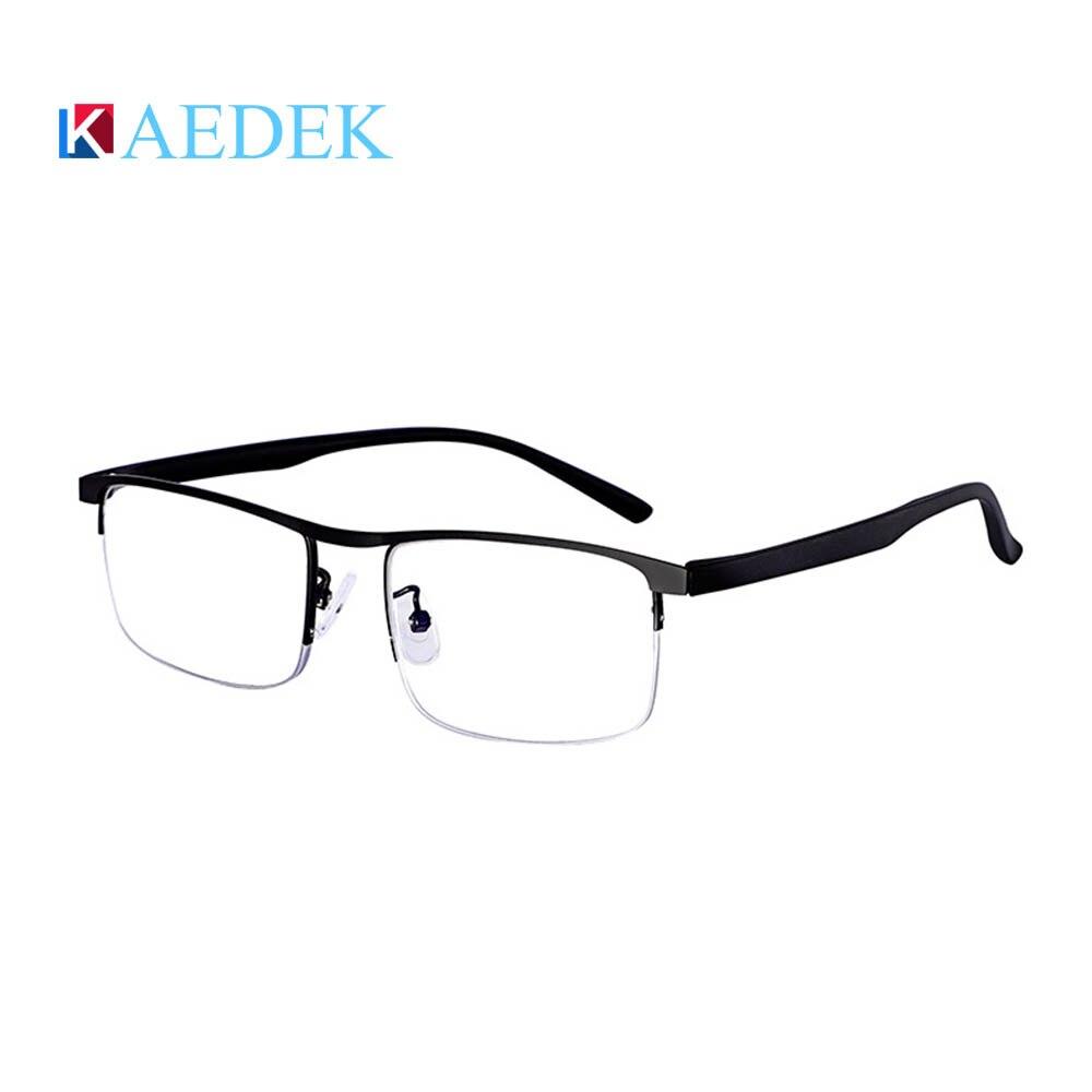 Image 5 - KAEDEK Vintage Reading Glasses Women Men Retro Alloy Prescription Eyewear Rectangle Business Hyperopia Presbyopia EyeglassesWomens Reading Glasses   -