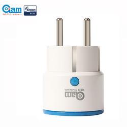 НЕО Coolcam Z-WAVE плюс NAS-WR01ZE ЕС Smart мощность розетка домашней автоматизации сигнализации системы дома Z Wave 868,4 МГц видео частота