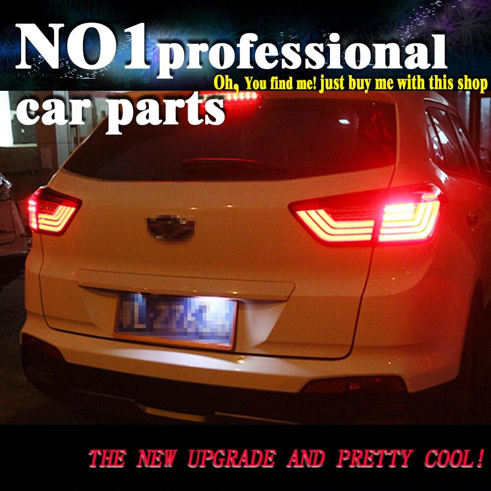 OUMIAO Tail Lamp for Hyundai ix25 2014-2017 taillights Creta Tail Lights LED Rear Lamp LED DRL+Brake+Park+Signal Stop Lamp