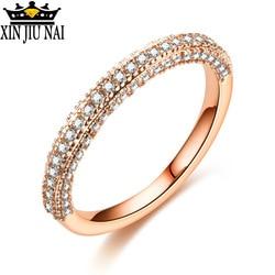 Кольцо из 18-каратного золота и серебра, подходит вечерние, простой и великолепный полукруглый набор с бриллиантами, обручальные украшения о...