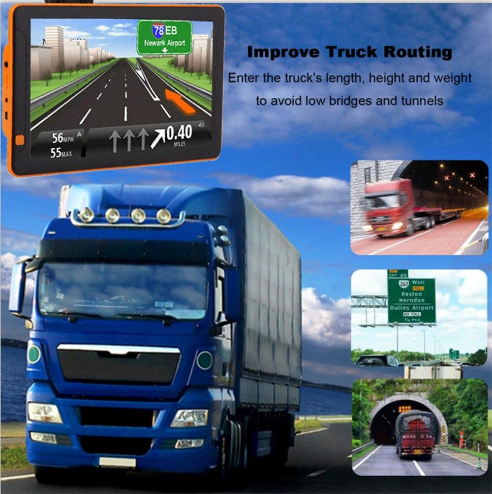 9 zoll Android Auto GPS Navigation 1G + 16 GB DDR1M DVR Recorder Lkw Auto Tablet PC AV-IN Bluetooth vierbett Maschine Freies Europ