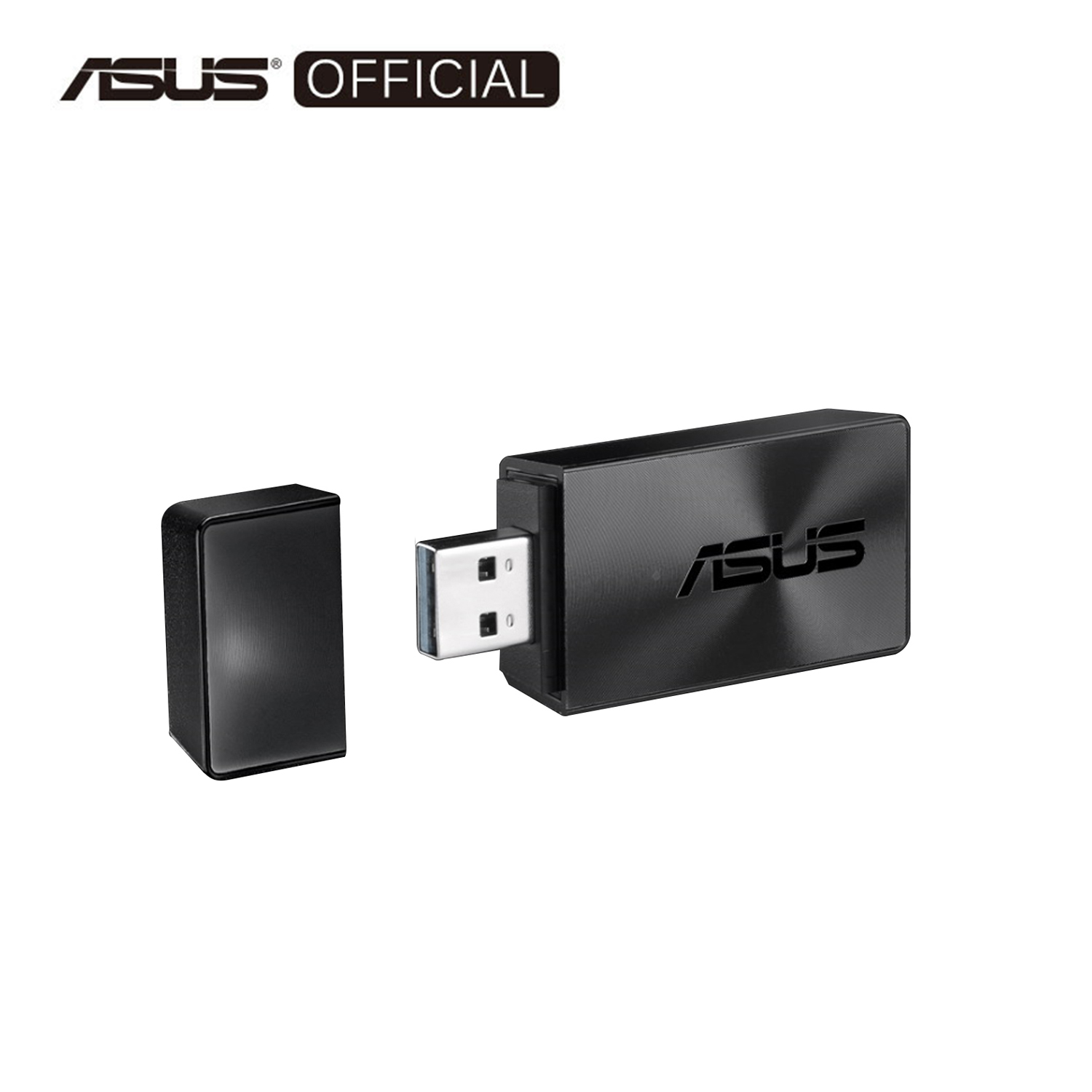 ASUS Dual Band 2.4GHz 5GHz USB WiFi Wireless Adapter (USB-AC57)