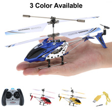 цена Syma S107G RC Helicopter for Kids 3.5CH Mini Drone Indoor Co-Axial Metal RC Helicopter Built in Gyroscope Remote Control Toys онлайн в 2017 году