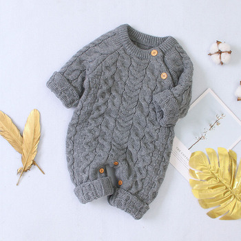 LZH 2020 Autumn Infant Hooded Knitting Jacket For Baby Clothes Newborn Coat For Baby Boys Girl Jacket Winter Kids Outerwear Coat 6