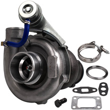 GT35 GT30 T3T4 T04E T3 Turbo Turbine 0.73 0.5 A/R 2.5 Inch V-Band Journal Turbo Turbo turbolader Voor 4 6 Cyl