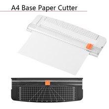 Machine à couper le papier, tapis de découpe, fournitures de découpe, Portable, à Base plastique A4, découpeur de papier Photo, tondeuse pour Scrapbook
