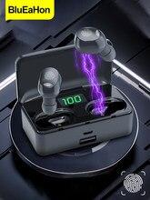 Tws bluetooth 5.1 fones de ouvido 4200mah caixa carregamento sem fio hd chamada clara fones à prova dwaterproof água com microfone