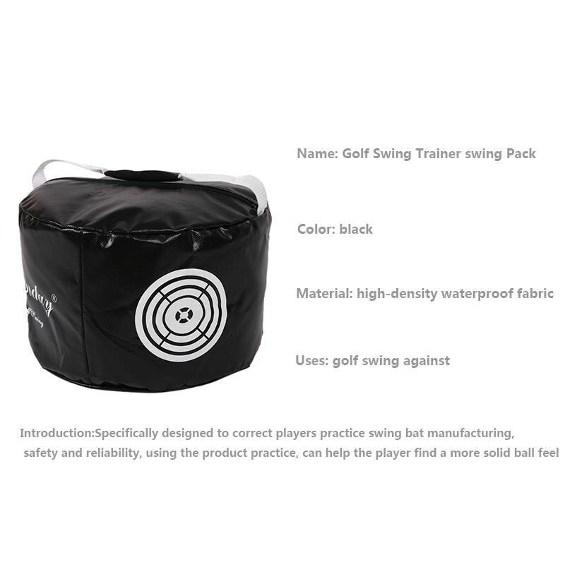 Golf Swing Power Impact Golf Training Bag Trainer Practice Strike Smash Aid