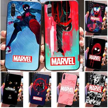 Fashion Mainstream MARVEL Phone Case For Xiaomi Mi 9 9T CC9 CC9E 8 SE Pro A2 Lite 6X 5 A3 A1 Max Mix 2 3 image