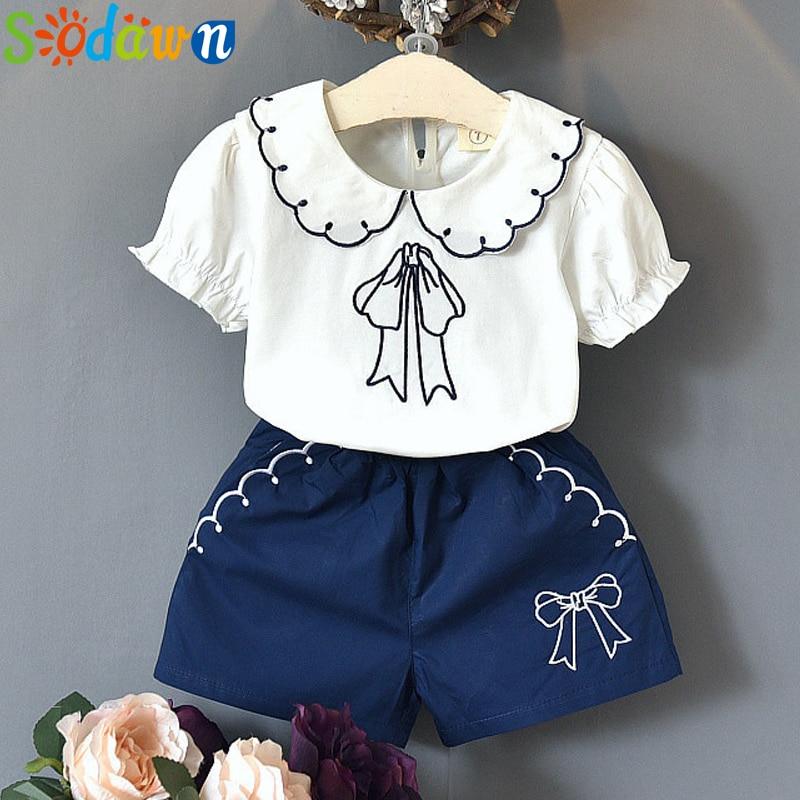 Sodawn-Summer-Girl-Clothes-Outfits-2pcs-Kids-T-Shirt-Shorts-2PCS-Children-Clothing-Sets-2020-Summer