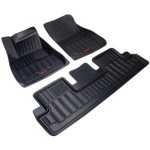 TPE автомобильные коврики для Tesla модель 3 задний багажник для хранения передний багажник коврик для всех погодных авто ковер 2016-2020 лет водоне...