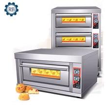 Cena fabryczna piekarnia ceny sprzętu do dwupokładowa piekarnik piekarnia 2 deck piekarnik gazowy