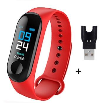 M3 Plus Smart Bracelet Heart Rate Blood Pressure Health Waterproof Smart Watch M3 Pro Bluetooth Watch Wristband Fitness Tracker 13
