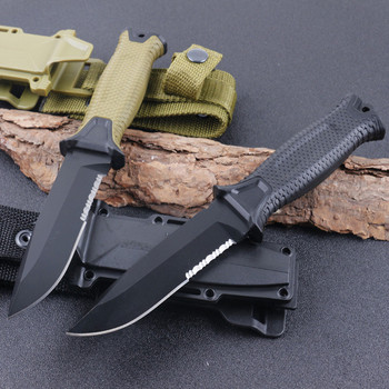 FW-G1500 Fixed Knife Camping Hunting Knives ABS Handle 12C27 Blade Tactical Knife Wildness Survival EDC Tool 4