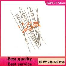 20 шт. NTC MF58 100K OHM B = 3950 5% термистор Температура датчика резистор (5-10K 22K 50K