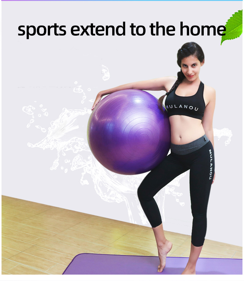 COPOZZ Exercise Ball/Yoga Balls Pilates for Fitness/Gym/Workout 7