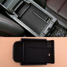 CITALL Black Car Center Console Armrest Storage Organizer Box Tray Fit For Chevrolet Blazer 2019 2020