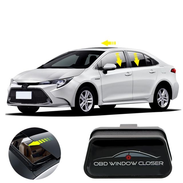 Para vw chevrolet passat controlador obd janela do carro de controle remoto fechar aberto pause windows elevador automático perto dispositivo da janela