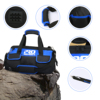 Waterproof Tool Bag with Bag Shoulder Strap Belt 18in  Electrician Portable Working Tools Storage Bags By PROSTORMER 3