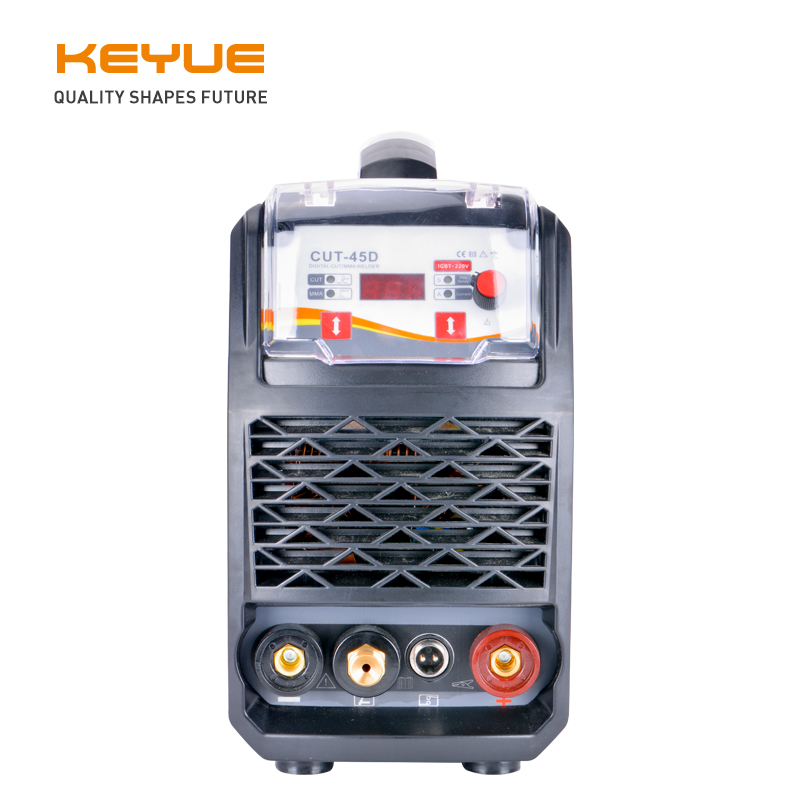 KEYUE CUT-45D CUT MMA 2 in 1 Portable Single Phase 220V 50A Air Inverter Plasma Cutter 14mm Clean Cut Great To Cut All Steel