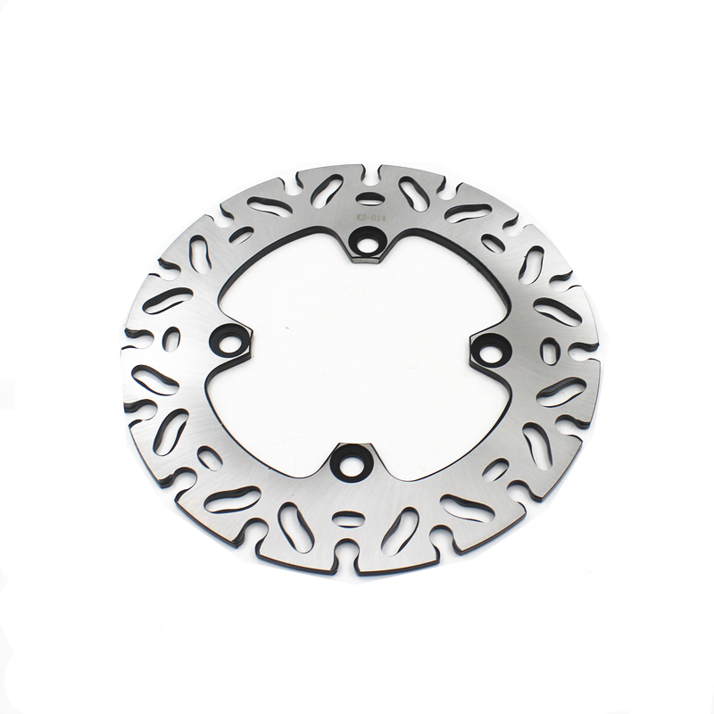 Motorcycle Stainless Steel 220MM Rear <font><b>Brake</b></font> <font><b>Disc</b></font> Rotor For <font><b>Kawasaki</b></font> Z1000 2003-2006 <font><b>Z750</b></font> 2004-2006 ER6N ER6F KLE650 image