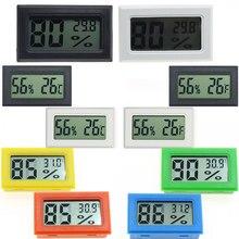 Termômetro higrômetro mini eletrônico embutido digital termômetro medidor de umidade termômetro umidade instrumentos eletrônicos