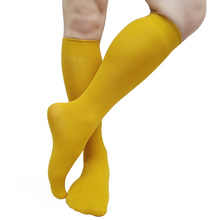 Softy Sheer Mens dress suits socks High Elastic Knee high Gentlemen Business Hose Tube Socks Striped New Design Formal socks men patchwork socks dress suits striped high quality socks for male softy cotton classic hose gentlemen brand socks