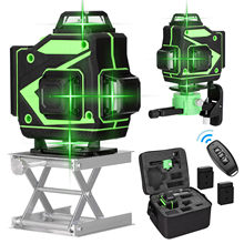 Multifunctional 16 Lines Laser Level Tool Vertical Horizontal Lines with 3° Self-leveling Function Self-Leveling Laser Level 360