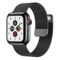Magnetische Schleife Für Apple uhr band 44mm 40mm iWatch Band 38mm 42mm edelstahl armband Apple uhr seri es 5 4 3 se 6 strap