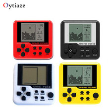 Retro Handheld game console 3D Puzzle Adult Kids Mini game Russian Box tetris tank Portable juegos LCD Players Educational Toys(China)