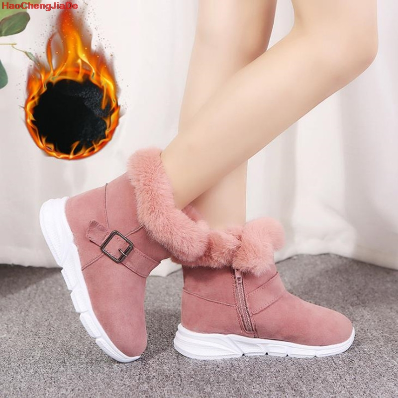 New Arrival Winter Shoes For Girls Plush Toddler Boy Boots Kids Keeping Warm Baby Snow Boots Children Shoes