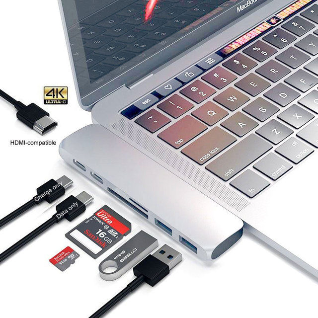 Business Travel Portable device 3 Dock with HDMI