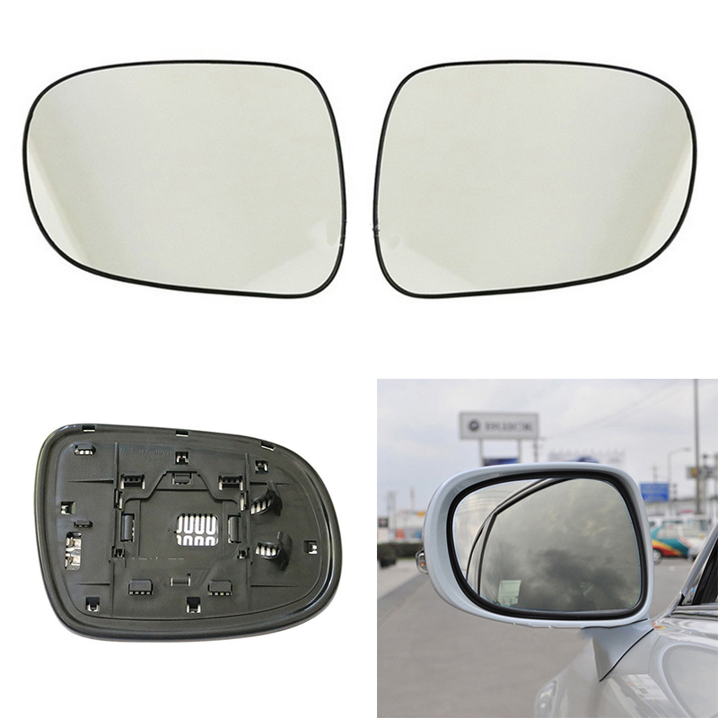 LEX-RX 2003 to 2008 Silver Door Mirror Glass LH Passenger Side