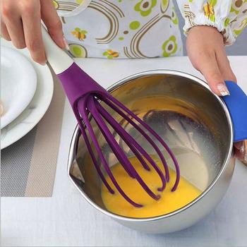 Food Grade jajko plastikowe pałeczki ręcznie mleko jajka krem do pieczenia ubijaczka rózga mąka do pieczenia mieszadło kuchnia Blender ręczny narzędzie do gotowania tanie i dobre opinie CN (pochodzenie) Jajko naganiaczy News Ekologiczne Z tworzywa sztucznego Egg stiring Support