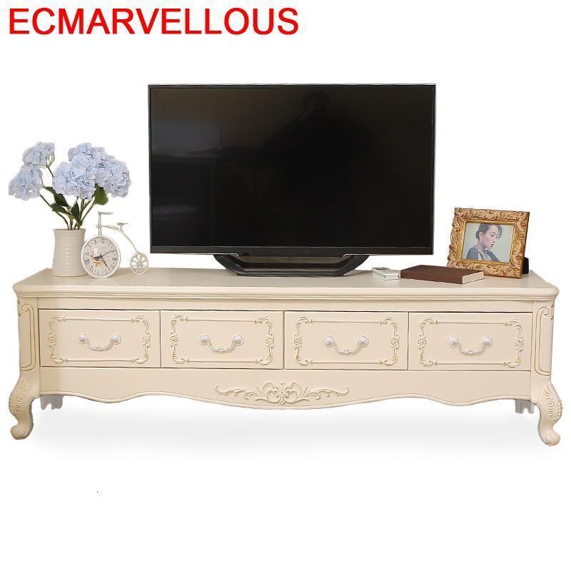 Para Unit Ecran Plat Soporte De Pie Modern Led Riser Lift European Wood Meuble Table Living Room Furniture Monitor Tv Stand