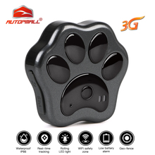 цены Hot 3G GPS tracker Cat Dog GPS Pet GPS Locator Real-time Tracking Waterproof WCDMA Dog Tracker Waterproof Geo-fence Free Web APP