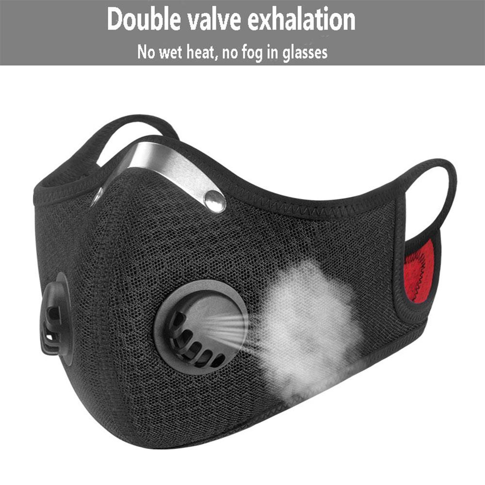 air pollution mask n95 sports cycling