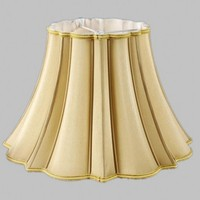 E27 Art Deco Lamp shade for Floor lamp Manual table lamp shade silk fabric beige lampshades modern style lamp cover