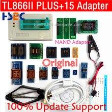 Novo original xgecu tl866ii plus nand tsop48 adaptador eeprom pic avr minipro tl866 tl866cs/a usb programador universal