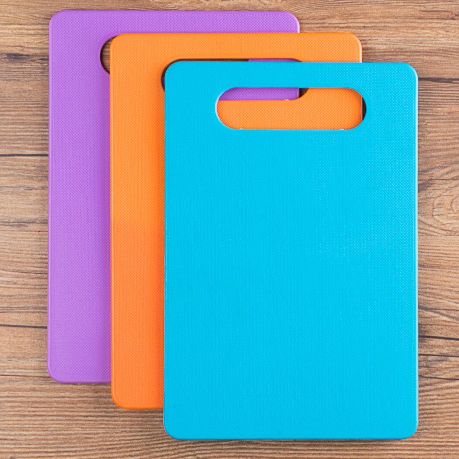 Cutting board chopping kitchen cutting mildew antibacterial plastic plate household thickening panel