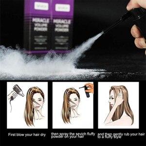Пушистая пудра для волос для мужчин Wo, пудра для укладки волос с эффектом увеличения объема, вращение на 360 °, освежающий спрей для удаления масляного масла, инструмент для укладки волос Помады и воск      АлиЭкспресс