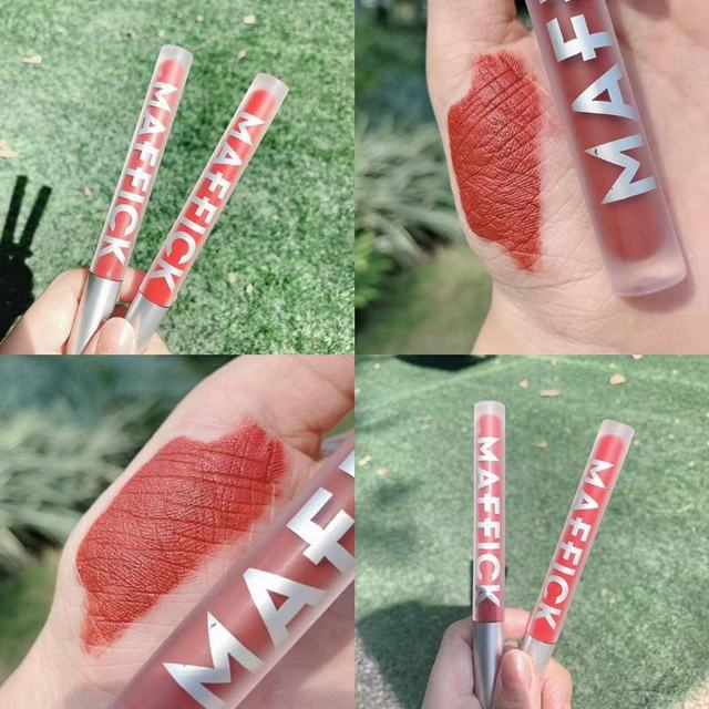 Liquid Lipstick Matte Long Lasting Waterproof Makeup Lips Red Velvet Nude Lip Gloss Make Up Cosmetics Matte Lipsticks Lip Tint 3