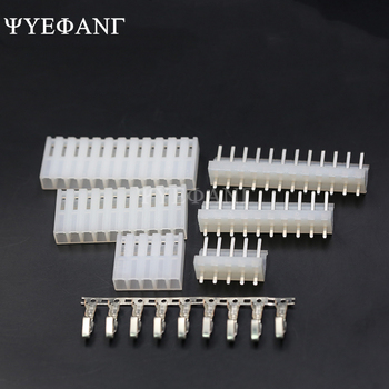 10set/lot CH3.96 3.96 mm - 2/3/4/5/6/7/8P Straight Pin connector 20pcs Male + Female terminal 3.96mm - discount item  5% OFF Electrical Equipment & Supplies