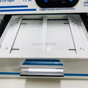 Image 5 - NJLD edge UV Light OCA Wave suszarka do SAMSUNG edge Screen zewnętrzne szkło OCA laminowanie zestawy narzędzi do naprawy telefonu